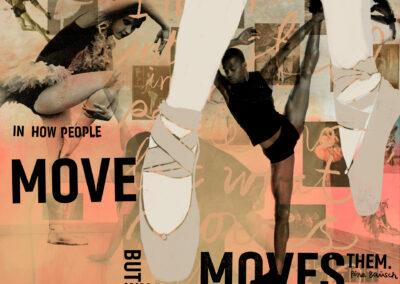 Danseren, 190 x 160 cm